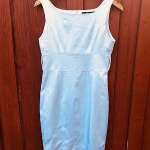 Women's white satin dress summer sale large
